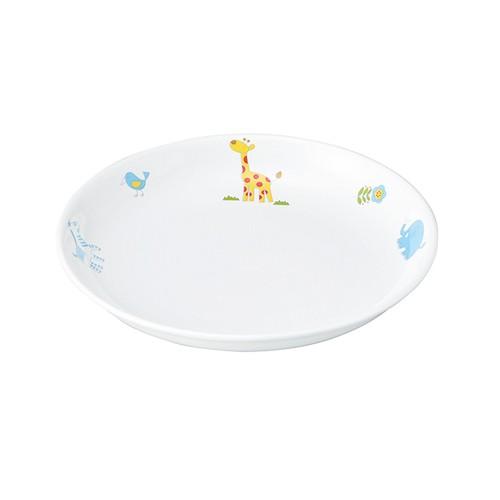 【1148-1250】強化磁器 17.2cm 皿 さふぁり