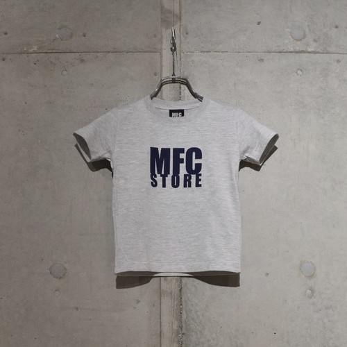 MFC STORE LOGO KIDS TEE / GRAY x NAVY