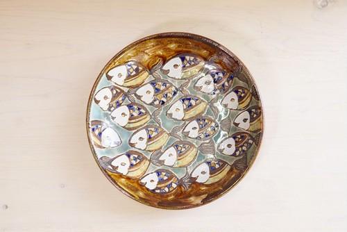 7寸皿【魚群】