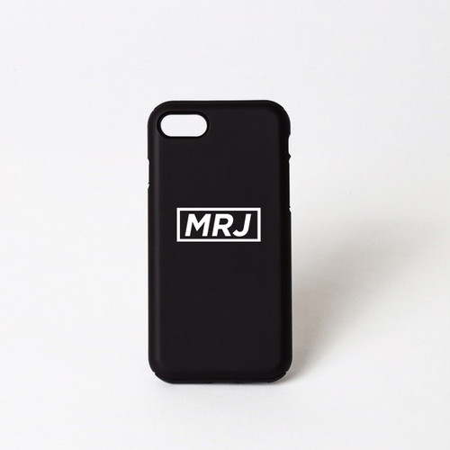 MRJ   iPhoneケース 7、8、X対応 (ブラック)