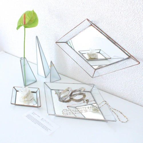 Diamond shape mirror / small