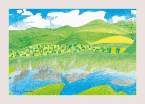 postcard-Masahiro Chiba-知床の風景