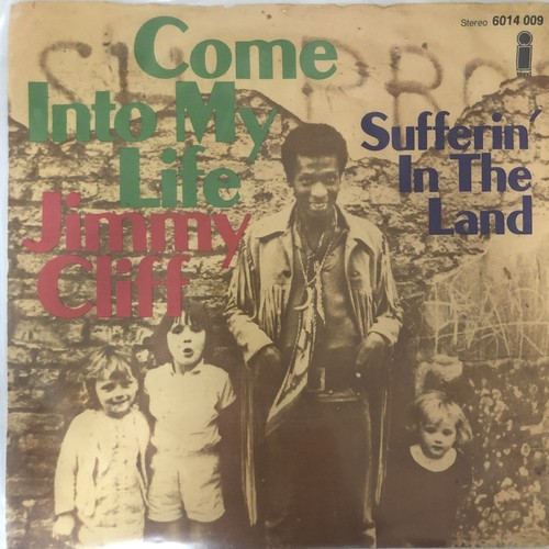Jimmy Cliff ‎- Come Into My Life【7-20587】