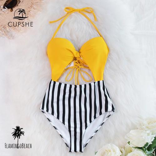 【FlamingoBeach】stripe monokini モノキニ 65383