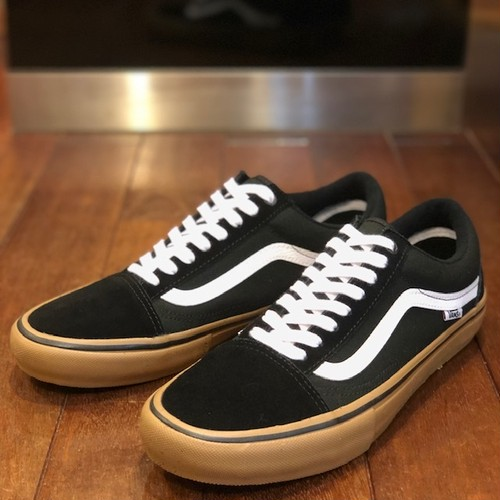 VANS / ヴァンズ | OLD SKOOL PRO : BLACK/WHITE/MEDIUM GUM