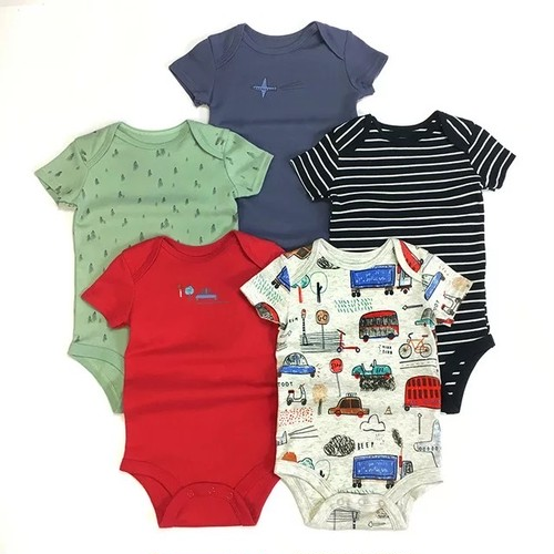 Rompers Vehicle  5pieces set