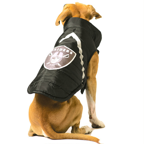 OAKLAND RAIDERS PET PUFFER JACKET【XL~3XLサイズ】
