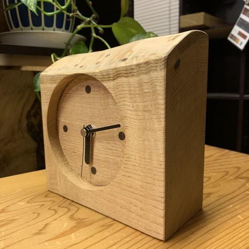 木の時計#9【岩手産くり】