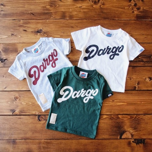 """【DARGO】""""DARGO Logo"""" T-shirt (KIDS)"""