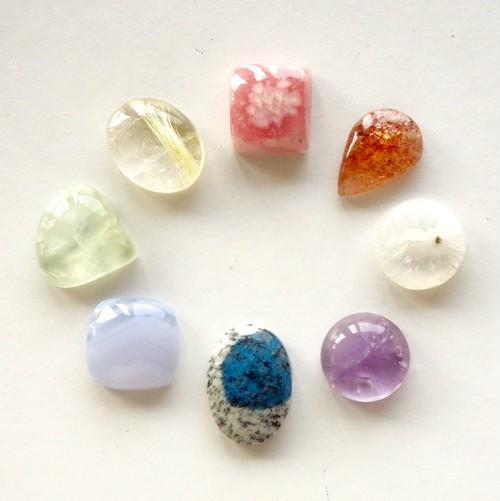 小粒天然石セット