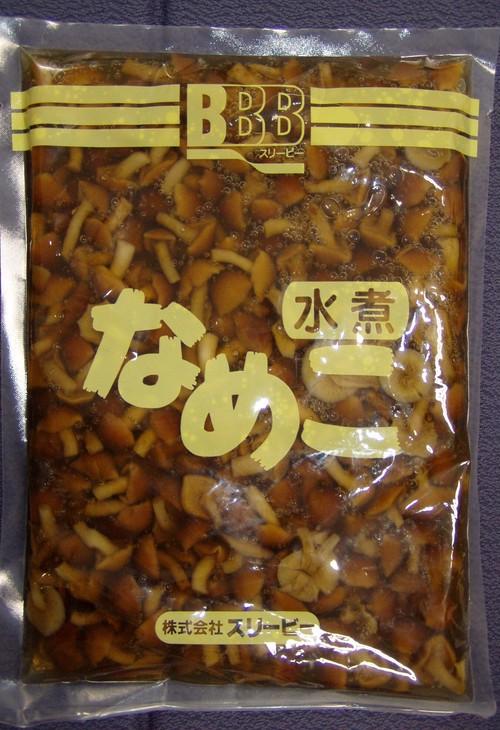 北海道産なめこ水煮 (固形量500g)