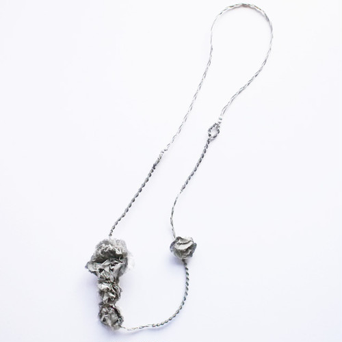Necklace 〈 Sakira 〉 Gray