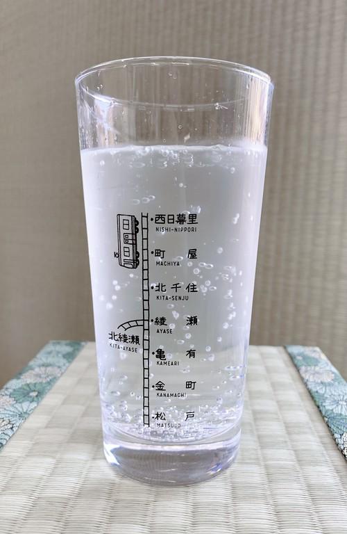 沿線グラス【千代田線・常磐線ver. 西日暮里〜松戸】