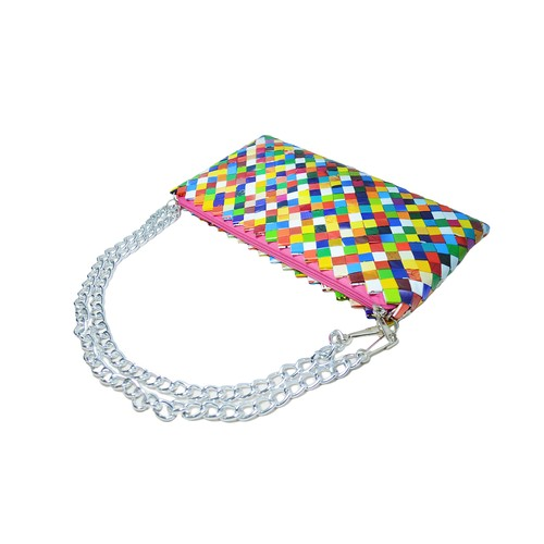Origami Party Clutch Colorful