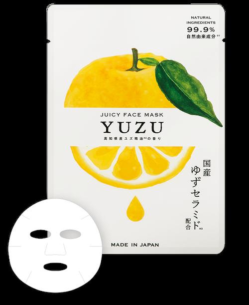 高知県産ユズジューシーフェイスマスク