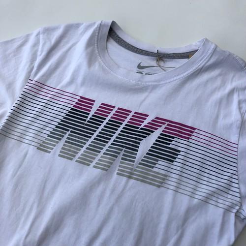グラデーション ナイキ NIKE Tシャツ Sサイズ 白