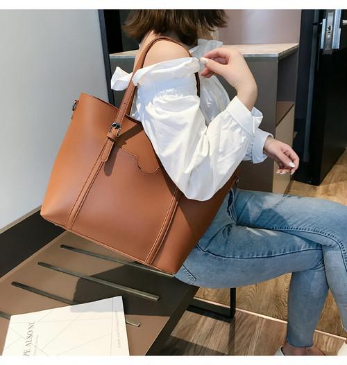 ビジネスおしゃれシンプル通勤大学生大容量レディース通販ハンドバッグバッグ