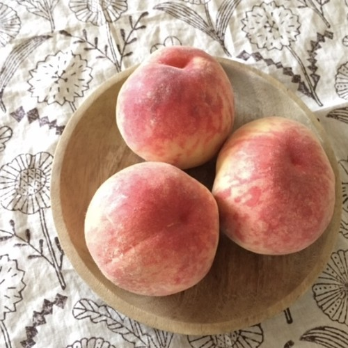 朝摘み桃 4キロ箱