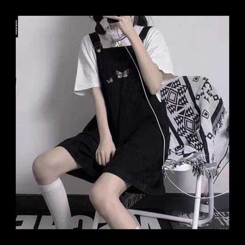 【お取り寄せ】バタフライ ブラックサロペット
