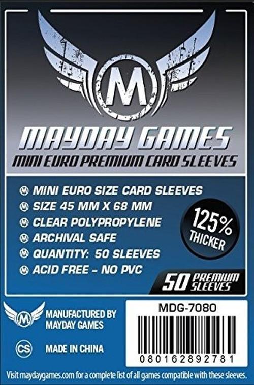 (45x68mm) Mayday カードスリーブ(プレミアムタイプ)  MDG-7080