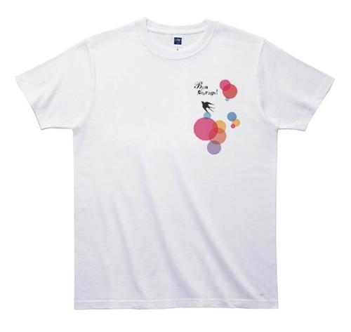 《きくちりえTシャツ》TK004/ ツバメ2