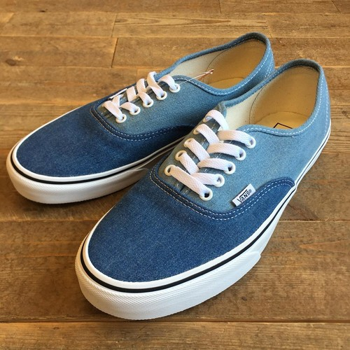 VANS(バンズ) Authentic  (Denim 2-Tone) blue/true white