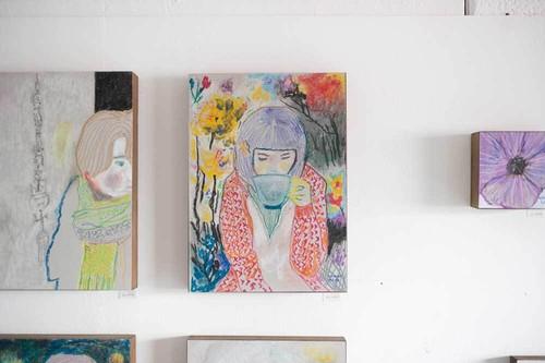 オオヤマネコ作品『あの日の肖像 III』