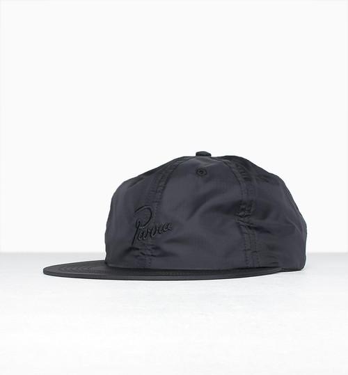 by Parra - signature 6 panel ripstop hat (Black)