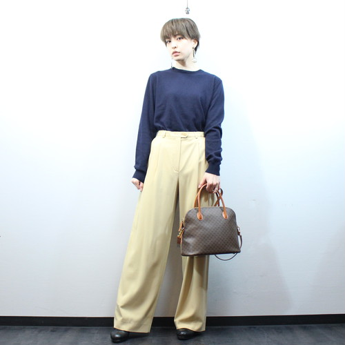 .ESCADA STRAIGHT PANTS MADE IN GERMANY/エスカーダストレートパンツ 2000000030494