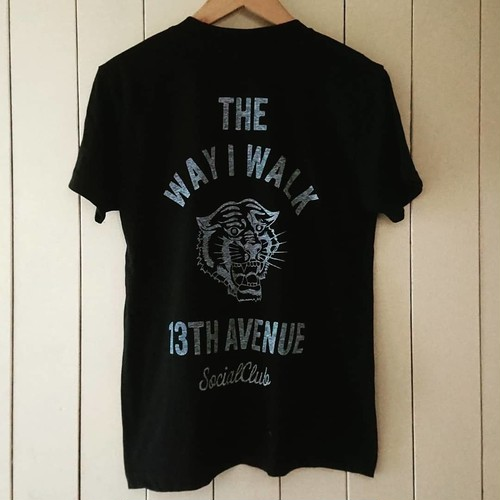 13th Avenue Social Club Panther T-shirts col.blk