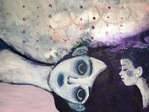「真夏の夜の夢」 菊池こずえ イラスト原画
