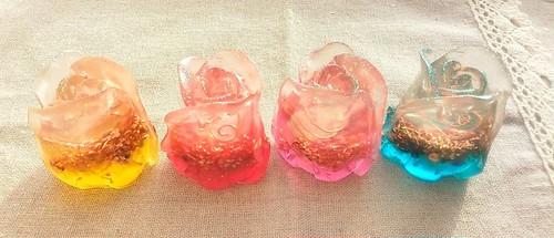 縦長薔薇オルゴナイト