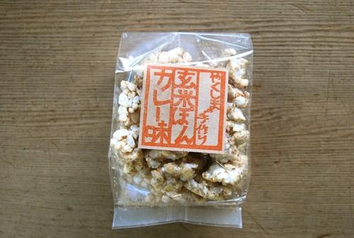 やくしまの手作り 玄米ぽん カレー味