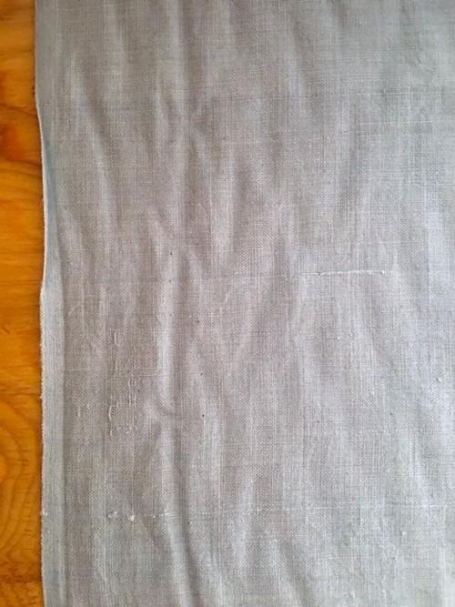Khadi cotton グレイブルー / しっくり