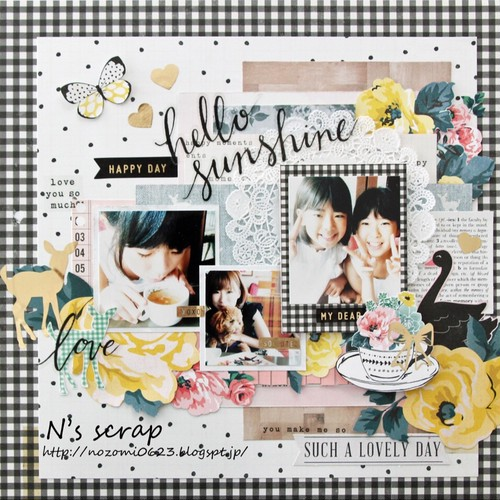 12インチ hello sunshine