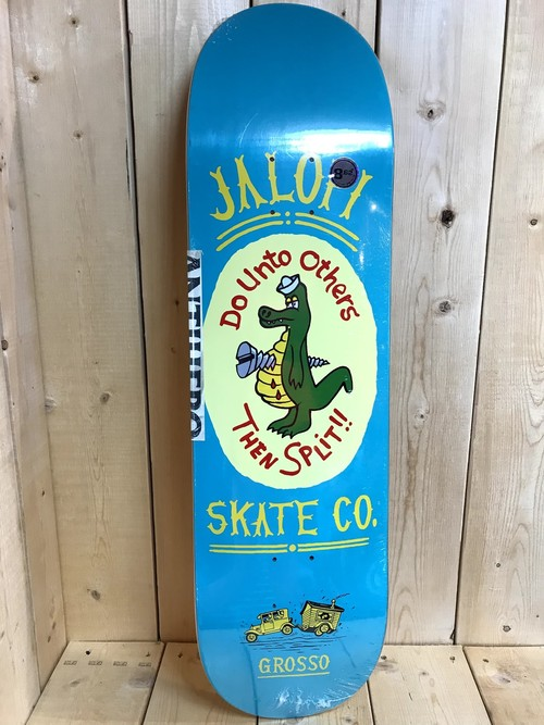 ANTIHERO JALOPI SKATE CO. JOHN JEFF GROSSO DECK 8.62