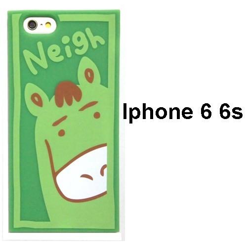 candies キャンディーズ 馬 Animal of year neigh iphone 6 6s case iphone6s ケース おもしろ シリコン おしゃれ ソフト ブランド
