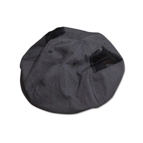 NOROLL / 6PANNEL SIDEMESH CASQUETTE -BLACK-