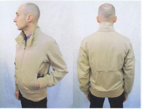 ネバートラストスタンドカラーハリントンジャケット