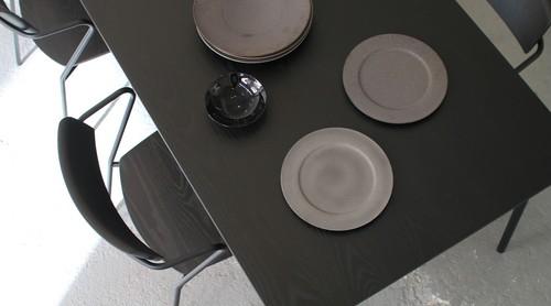 dual dining table(w1800) - walnut