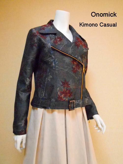 着物ライダースジャケット  Kimono Jacket LJ-085/S