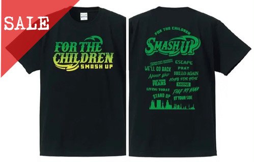 【SALE】FOR THE CHILDRENツアーTee (GREEN)