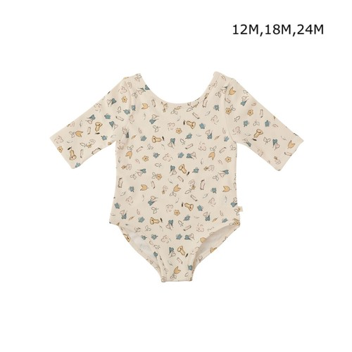 benebene BABY MAY LILY SWIM SUIT(12M,18M,24Mサイズ)