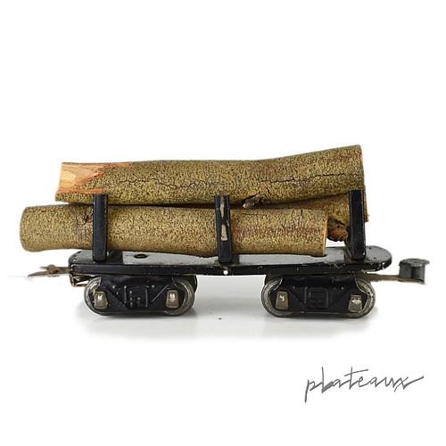 Marx 鉄道模型 LOG CAR 丸太貨車