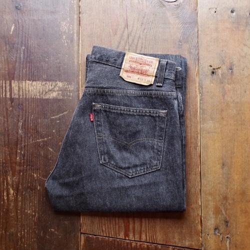 Mint !! 1990s Levi's 501 - 0658 Black Jeans / リーバイス 先染め ブラック デニム