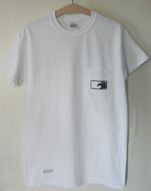 KBAポケットTシャツ(ホワイト)