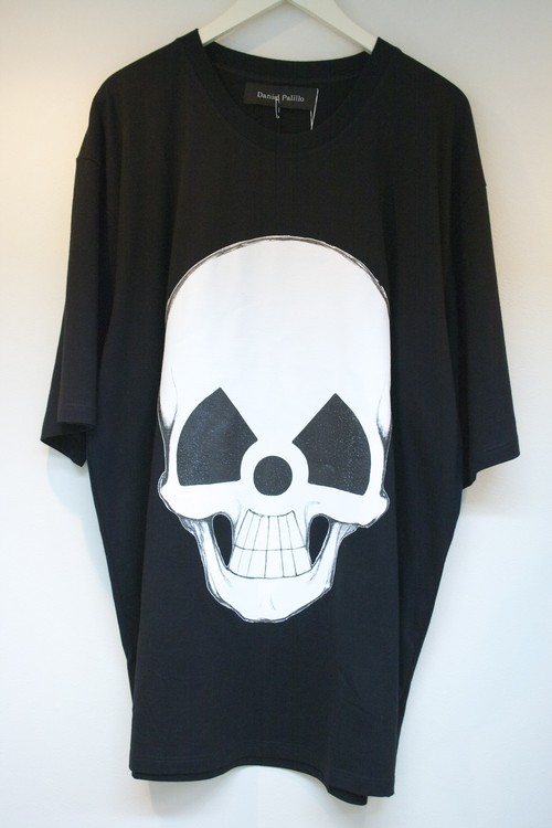 Daniel Palillo WORLD TOUR  SKULL PRINT T-SHIRT ワールド ツアー スカル プリント Tシャツ / BLACK 30%OFF