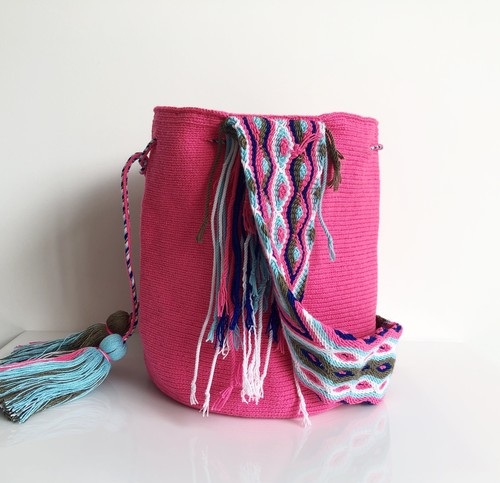 ワユーバッグ (Wayuu bag) Basic line Lサイズ Wide Strap