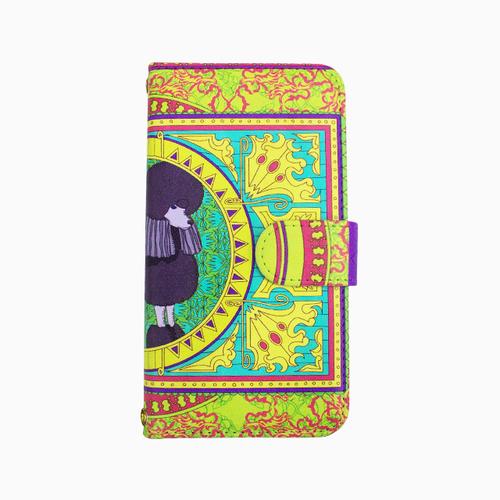 Smartphone case -Prince-ミラー&チェーン付きタイプ