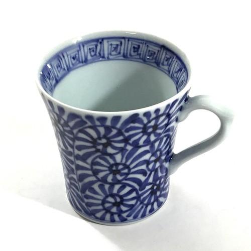 タコ唐草マグカップ